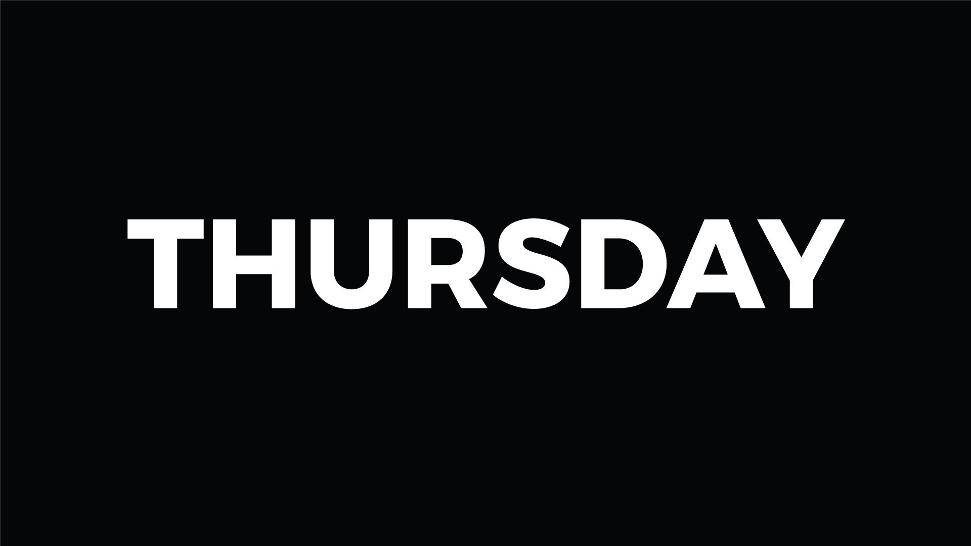 Songs About Thursday