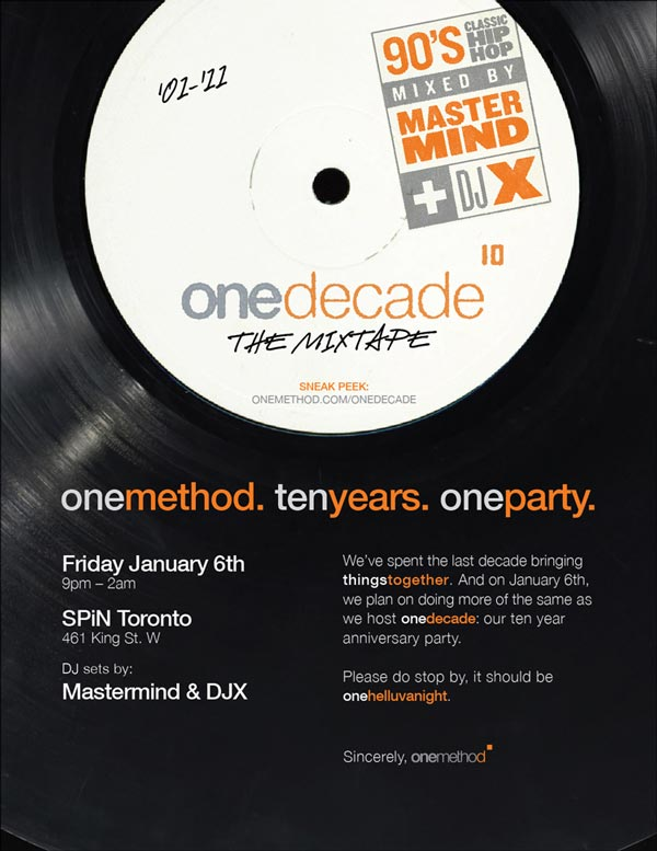 DJX - OneMethod OneDecade