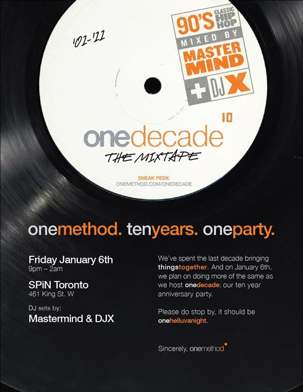 DJX - OneMethod OneDecade