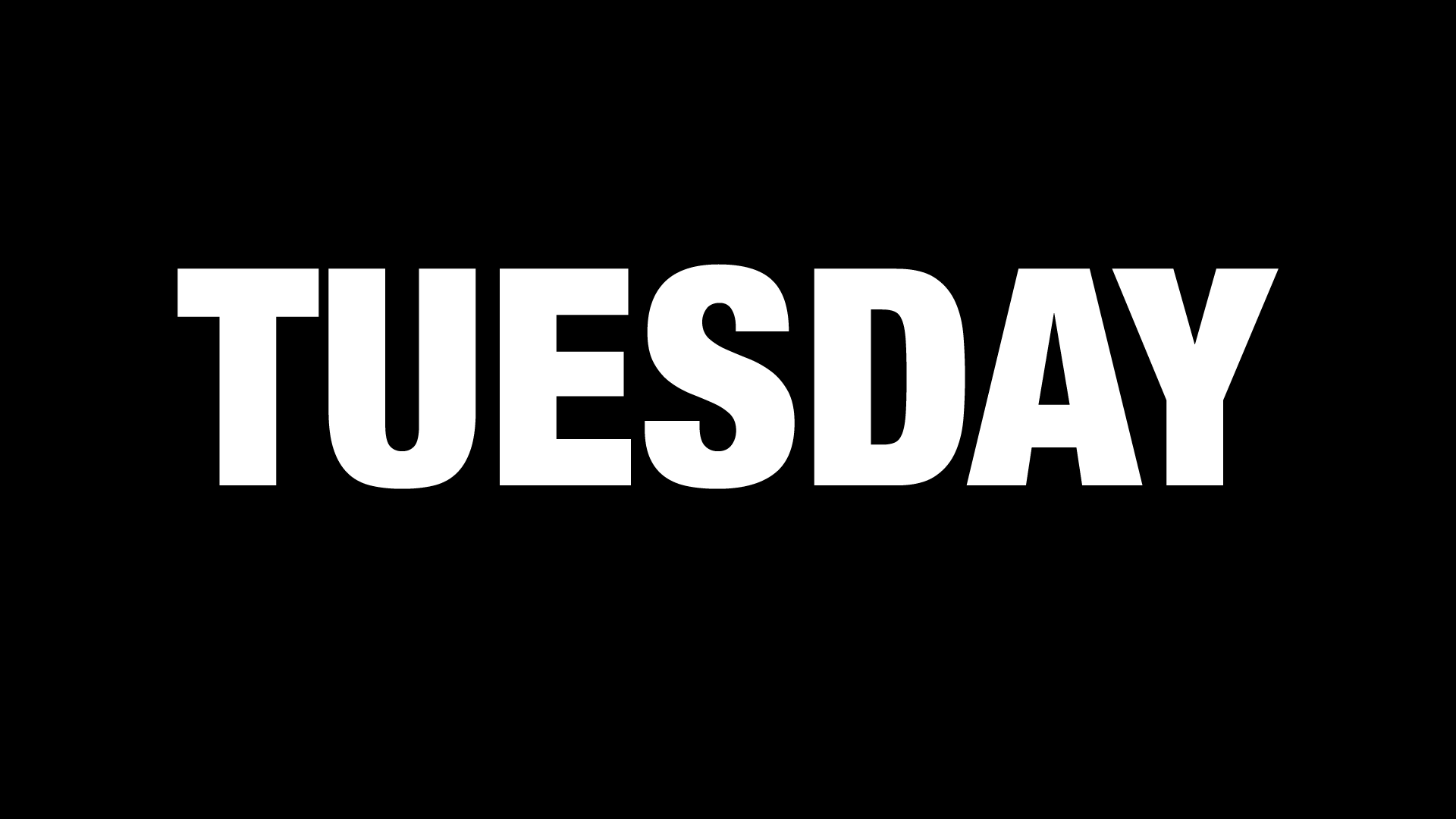 Songs With Tuesday In The Title
